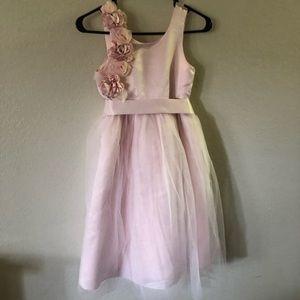 Us Angels Dresses - US Angels size 10 pink rosette dress
